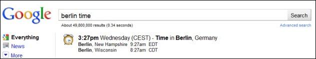 berlin time google