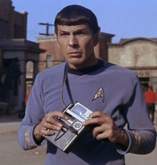 Spock with Early iPad